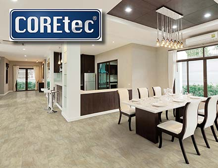 Save up to 30% on select COREtec luxury vinyl this month at Abbey Carpet & Floor in Ashland - don't miss this flooring blowout!