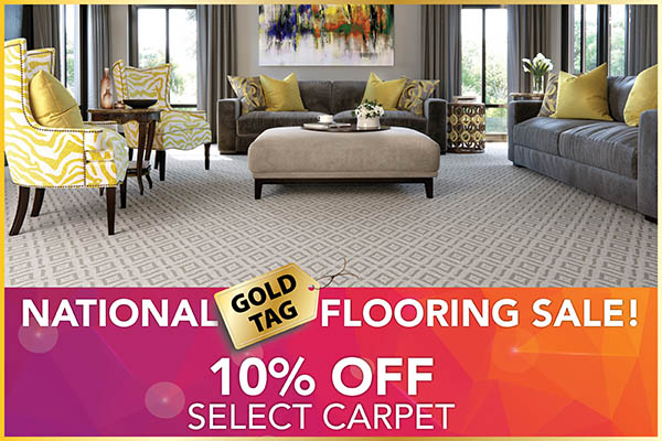 10% OFF select carpet at Abbey Carpet & Floor in Ashland, MA.