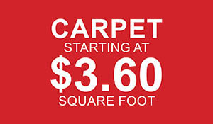 Carpet starting at $3.60 sq.ft. at Abbey Carpet & Floor in Ashland, MA this month only!