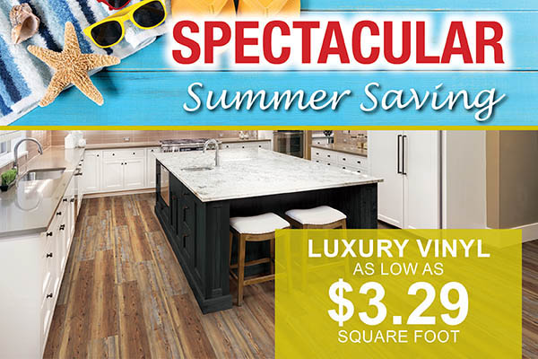 Luxury vinyl as low as $3.29 sq.ft. at Abbey Carpet & Floor in Ashland, MA this month only!