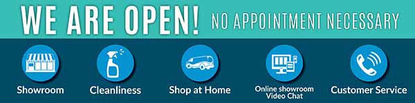 We Are Open - Offering our customers a myriad of ways to shop in-store and at home safely! Abbey Carpet & Floor in Ashland, Massachusetts