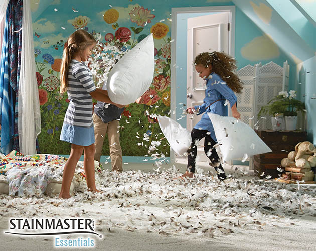 Stainmaster Essentials carpet give you  certified Stainmaster protection at a certified value.  Low maintenance and easy to clean.